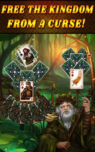 Shadow Kingdom Solitaire. Adventure of princess filehippodl screenshot 11