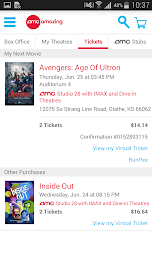 AMC Theatres Screenshot 3