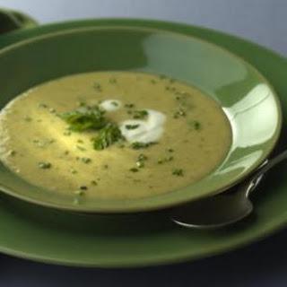 Leek, Asparagus & Herb Soup