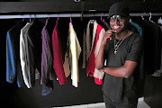 Fashion designer Paledi Segapo is the founder of fashion label Palse  based in Johannesburg. / Veli Nhlapo