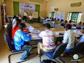 Photo: Training session - CFPAR for Kampong Speu province farmers , Lvea Village, Ang Popel commune, Korng Pisey district, Kampong speu province (10-12 Sep 2014)
