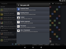 Screenshot of Wordfeud FREE