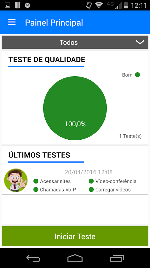 SIMET Mobile- screenshot