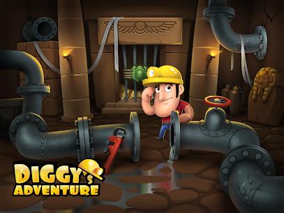 Diggy's Adventure: Escape this 2D Mine Maze Puzzle 7