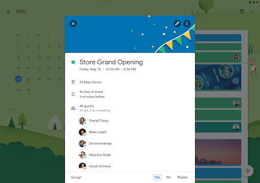 Screenshot for Google Calendar in United States Play Store