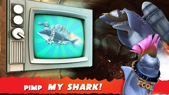 Hungry Shark Evolution MOD 5.9.2 (Unlimited Coins/Gems) Apk 3