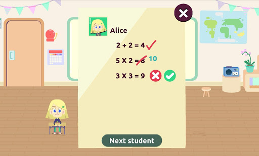 MySchool - Be the Teacher! Learning Games for Kids 3.1.1 screenshots 5