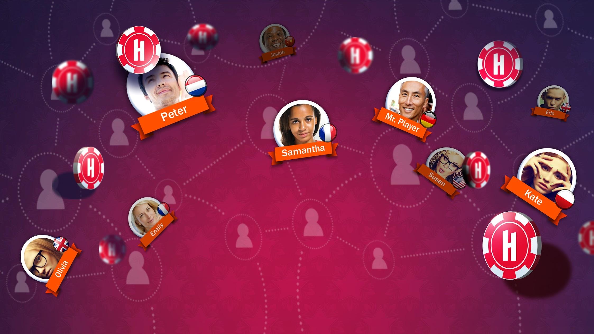 Huuuge: Multiplayer Slots, Casino, Poker