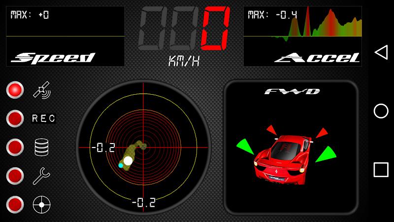 Скриншот Car G-Meter