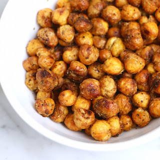 Southwest Roasted Chickpeas