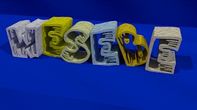 Photo: Modelado 3D - Texto wesebe