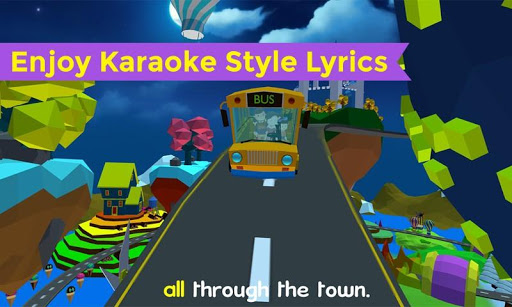 Wheels On The Bus Nursery Rhyme & Song For Toddler Screenshot
