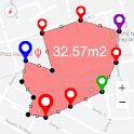 Area Calculator For Land - GPS Area Measurement icon