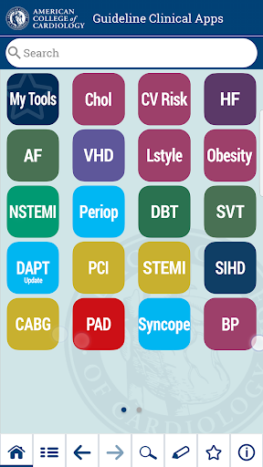 ACC Guideline Clinical App screenshot for Android