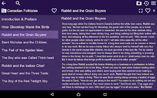 Screenshot of Fairy tales for kids