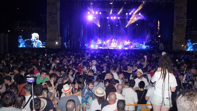 El recinto de conciertos acogió con gran éxito el Solazo Fest.