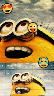 Keyboard Minion Emoji- screenshot thumbnail