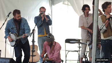 Photo: The Crooked Brothers at the Calgary Folk Music Festival