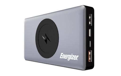 Pin sạc dự phòng Energizer 10.000mAh/ 3.7V Li-Polymer - QE10000GY (Xám)_3