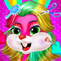 Twins Baby Bunny Hairs & Babysitter Nursery Care icon