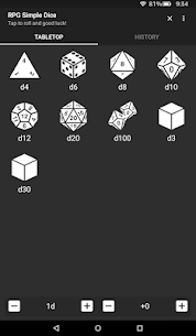 RPG Simple Dice Apk for Android. [DND 5E compaitable] 8