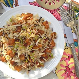 Persian-Style Jewelled Butternut Squash Rice