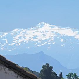 Sierra Nevada Vista by Joatan Berbel - Landscapes Mountains & Hills ( spain, mountain, granada, andalucia, snow, paysage, vista, colorful, park )