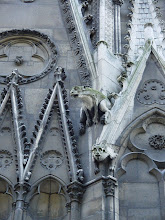 Photo: The famous gargoyles served a very practical purpose: draining water as far as possible from the Cathedral walls. Why such beastly forms were chosen for a Christian church remains a mystery, but possibilities include them representing the pagan state of all creatures before redemption, or as charms to ward off evil spirits.