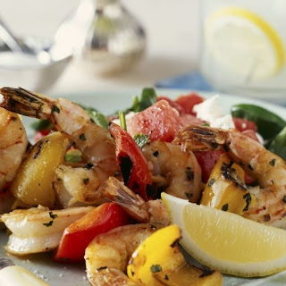 Prawn and Pepper Brochettes