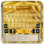 Gold Galaxy S7 Keyboard
