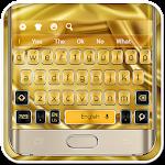 Gold Galaxy S7 Keyboard