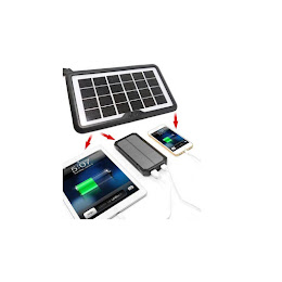 Acumulator cu incarcare solara, CCLAMP-680, Putere 8 W