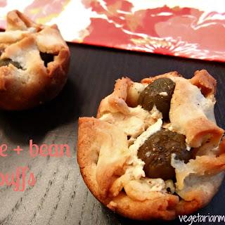 Olive and Bean Puffs – #glutenfree #vegan
