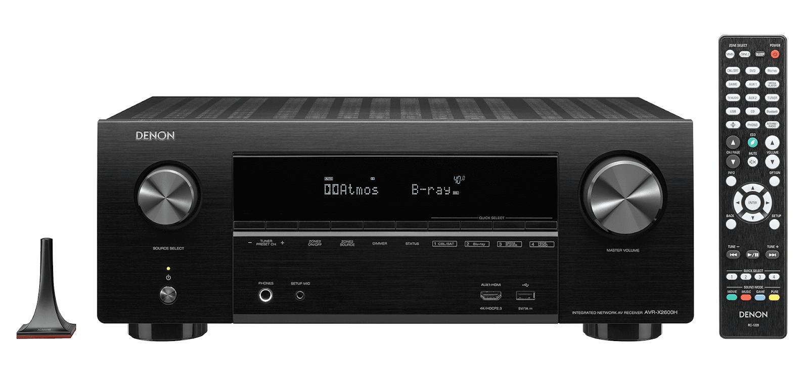 Amply Denon X2600H+Bộ 5.1 Polk Audio S55  lý tưởng cho xem phim - 2