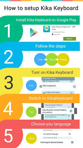 Fearless Emoji Keyboard Theme screenshot