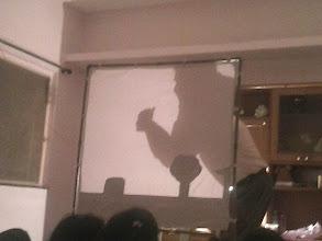 Photo: Shadow Play - Shivaji Maharaj!