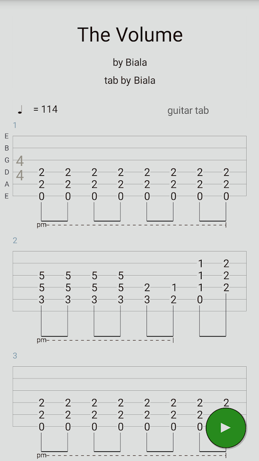Guitar guitar tabs on screen : Guitar Tabs X - Android Apps on Google Play