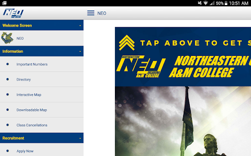 NEO A&M College- screenshot thumbnail