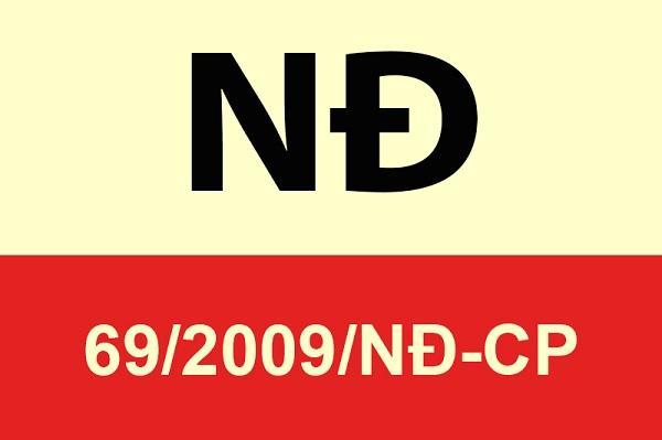 Thông tin nghị định số 69/2009/nđ-cp ban hành về quy hoạch đất