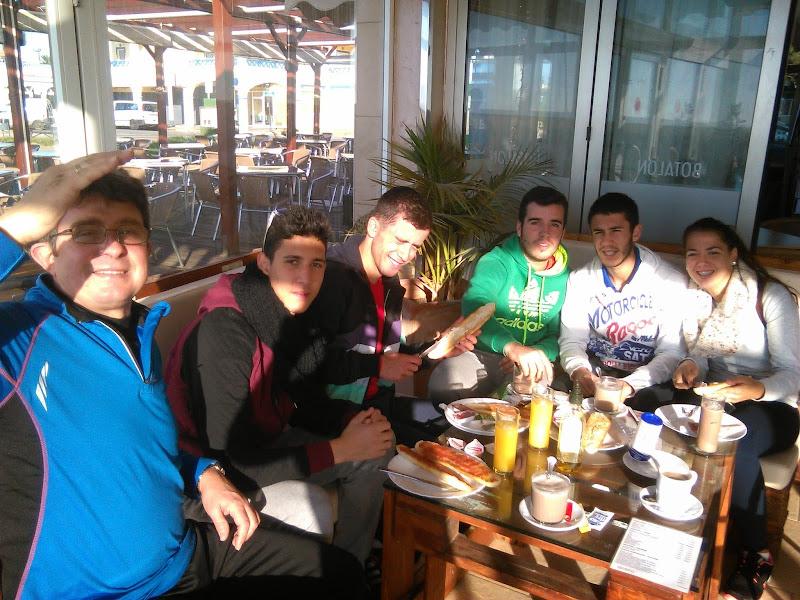 Photo: Desayuno en Isla Canela!