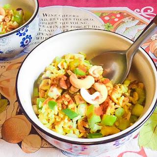 "Garlic ""Saffron"" Rice (Noodles)"