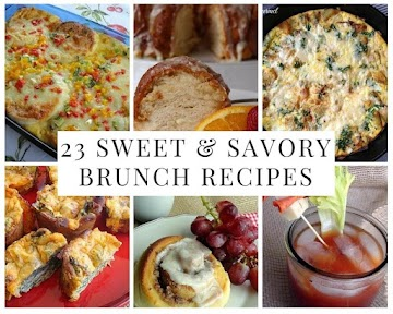 23 Sweet & Savory Brunch Recipes