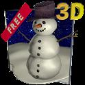 Snowfall 3D - Live Wallpaper icon