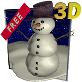 Snowfall 3D - Live Wallpaper