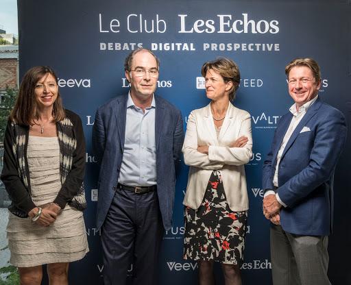 Club Les Echos Digital avec Isabelle Kocher et Yves Le Gélard - Hunteed