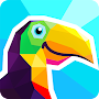 Poly Artbook - puzzle game APK icon