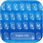 Water Drop Keyboard Theme