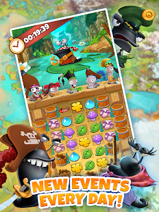 Description. Join over 80,000,000 people who are already playing this top-rated FREE puzzle adventure! Enter the world of Minutia and collect cute characters, level them up and defeat the Slugs!