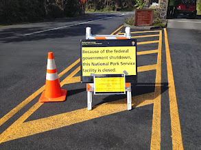Photo: Well, thanks to Washington we couldn't visit Mt. Kilauea or Volcano Nat'l Park