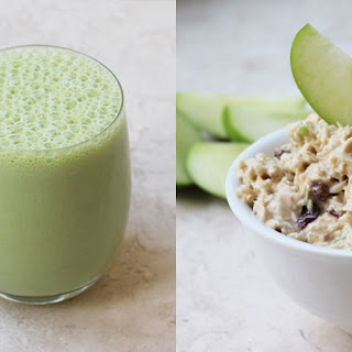 Superfood Bircher And Green Smoothie Combo